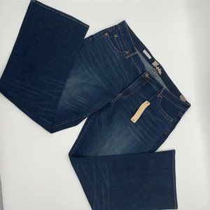 Kut from the Kloth Michelle Back Flap Bootcut Jean